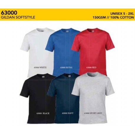 63000 SoftStyle Adult Tee Shirt