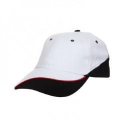 CP0600 White/Black (P/Red)