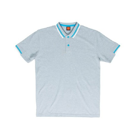 HC 1109 Ash Grey (T/Sea Blue & Grey & White)