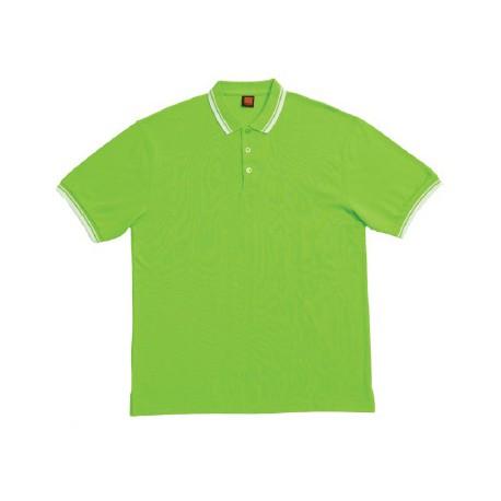 HC 1013 Lime Green / White
