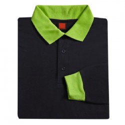 SJ 0301 Navy / Lime Green